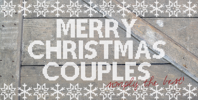 MERRY CHRISTMAS COUPLES