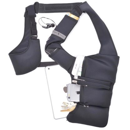 Smartphone tablet shoulder holster belt URBAN TOOL ® businessHolster tablet