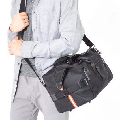 gym bag weekender black