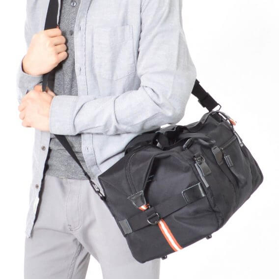 gym bag weekender black