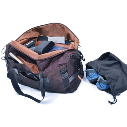 gym bag weekender inside