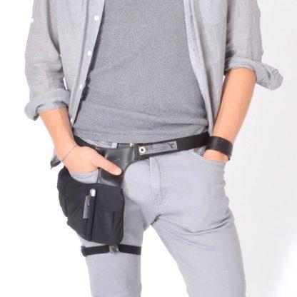 Hüfttasche für stylische Männer