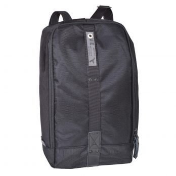 sling bag backpack black front