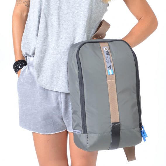 sling bag backpack grey