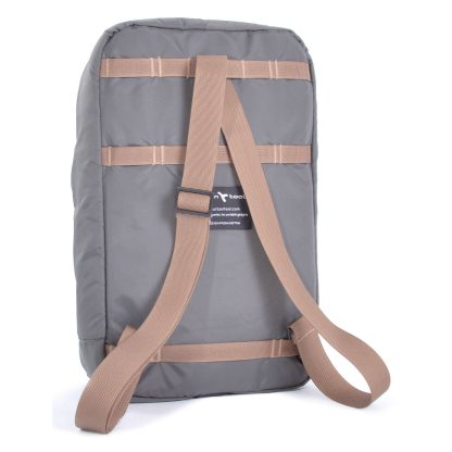 sling bag backpack grey backside