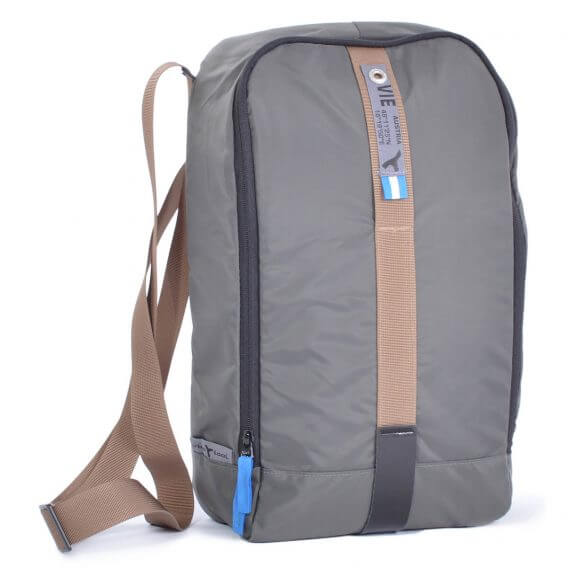 sling bag backpack grey 3D