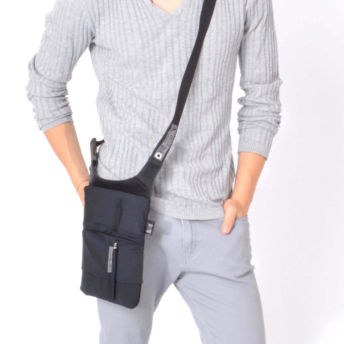 tablet sling bag Stylish shoulder tablet and smartphone bag URBAN TOOL ® slotbar