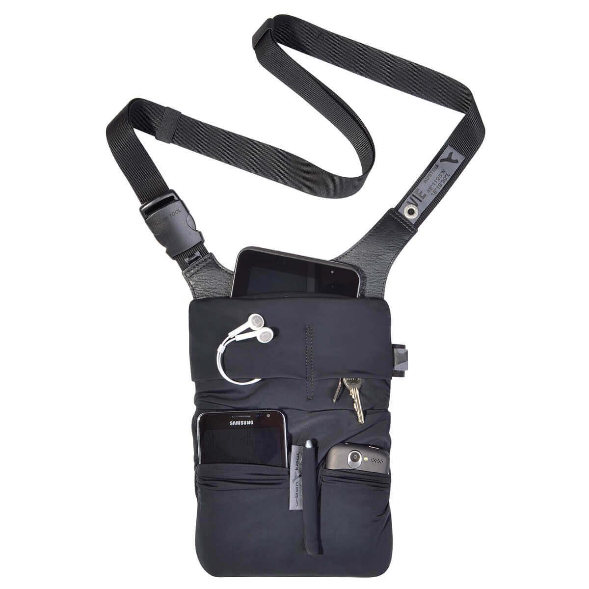 tablet sling bag shoulder tablet and smartphone bag URBAN TOOL ® slotbar