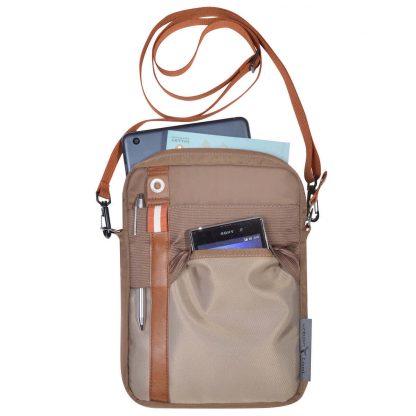 Tablet shoulder bag with belt holster function URBAN TOOL ® slycase bag