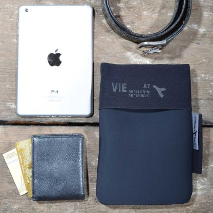 ipad mini tablet carry pouch made of soft neoprene