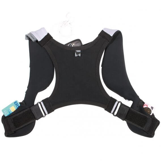 sports vest for smartphone and valuables