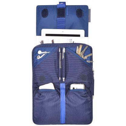 iPad sling bag backpack filled