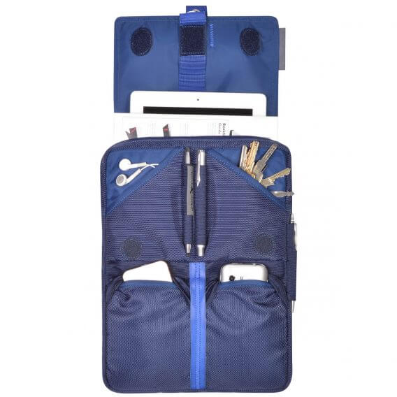 iPad sling bag backpack filled