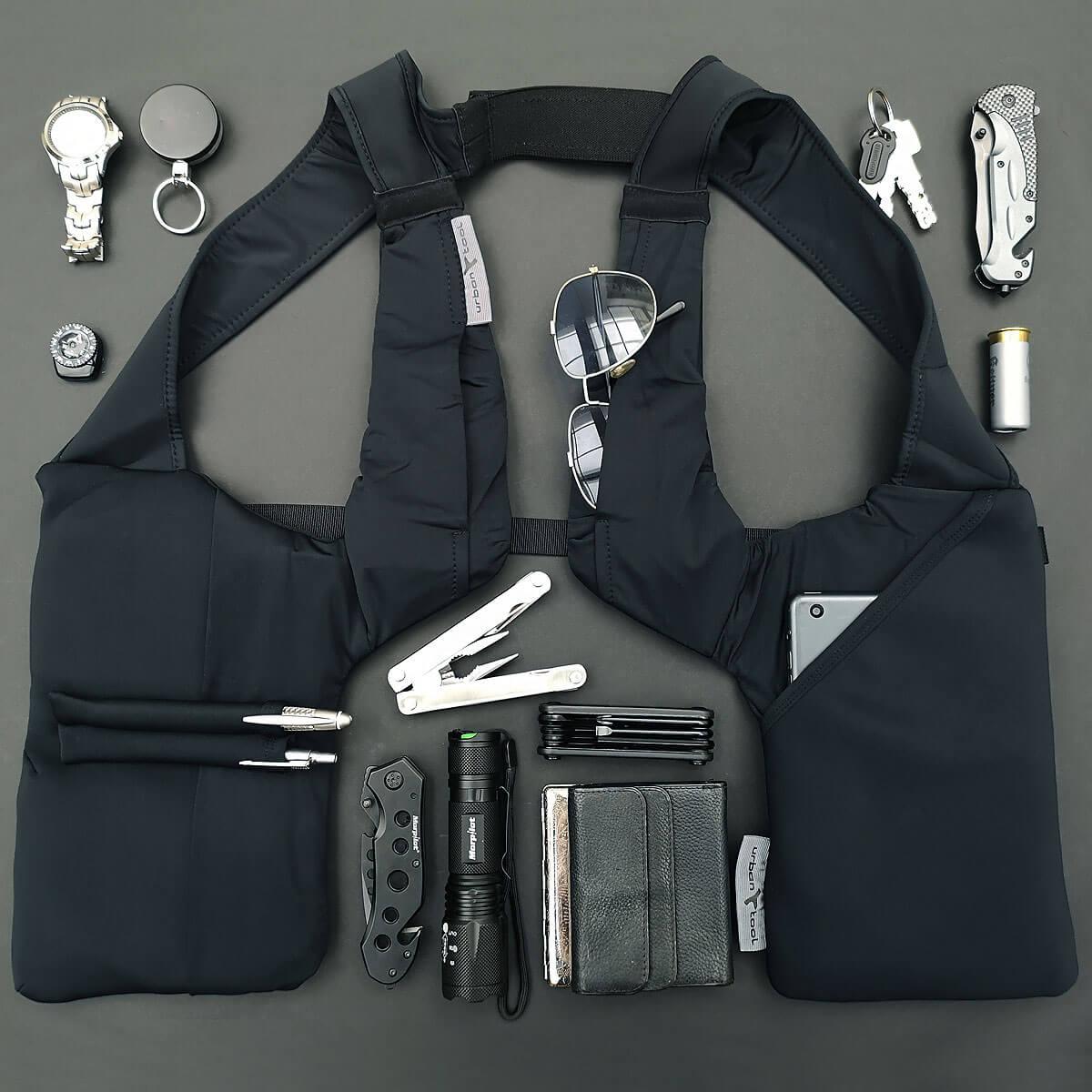 Tablet Jacket Shoulder Holster Gadget Vest Urban Tool Tablet Holster