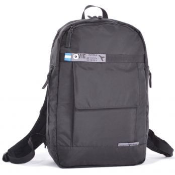 travel backpack front
