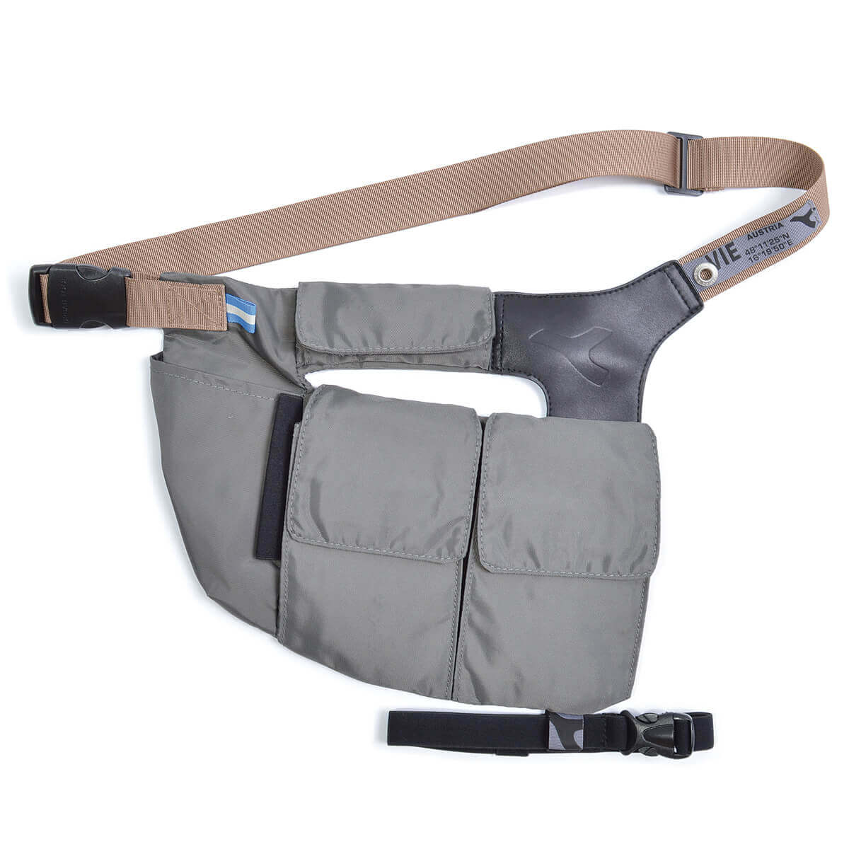 Waist pack bag for smartphones and wallet URBAN TOOL ® waistholster