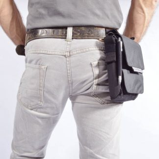 Tablet and smartphone belt pouch tool case URBAN TOOL ® tabletpouch