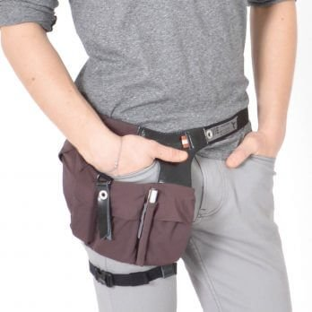Waist bag fanny pack for smartphones & wallet URBAN TOOL ® hipholster