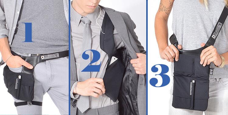 fanny pack gadget vest sling bag