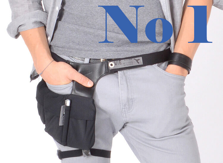 Waist bag fanny pack for smartphones & wallet URBAN TOOL hipholster