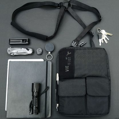3-in-1 tablet bag für 9-10´´ tablets und ipads, shoulder holster, bag and fanny pack