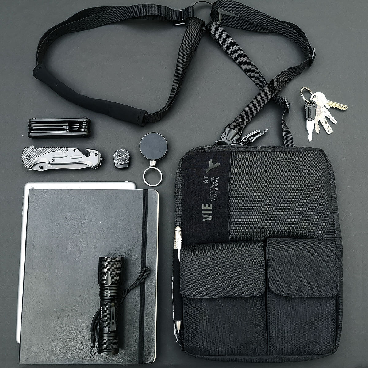 Admirable 3 In 1 Tablet Bag For Tablets And Ipads Up To 12 Tabletharness Interior Design Ideas Oteneahmetsinanyavuzinfo