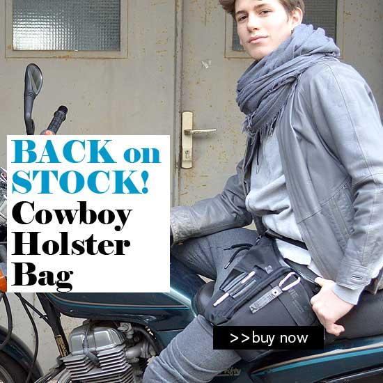 cowboy holster side bag