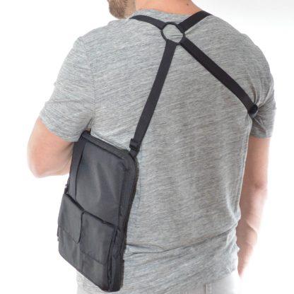 flexible multifunctional tablet bag as shoulderholster