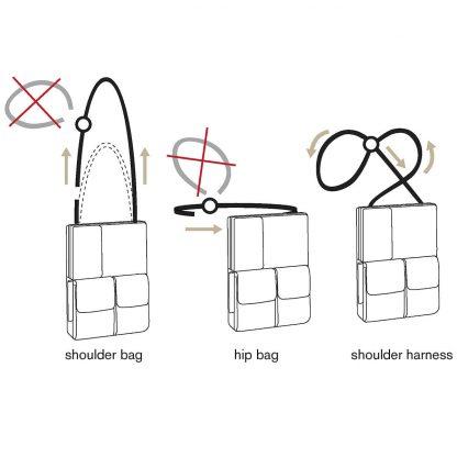 flexible multifunktionale Tablet Tasche
