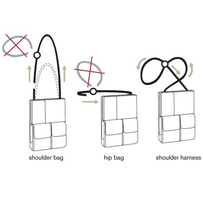flexible multifunctional tablet bag how to