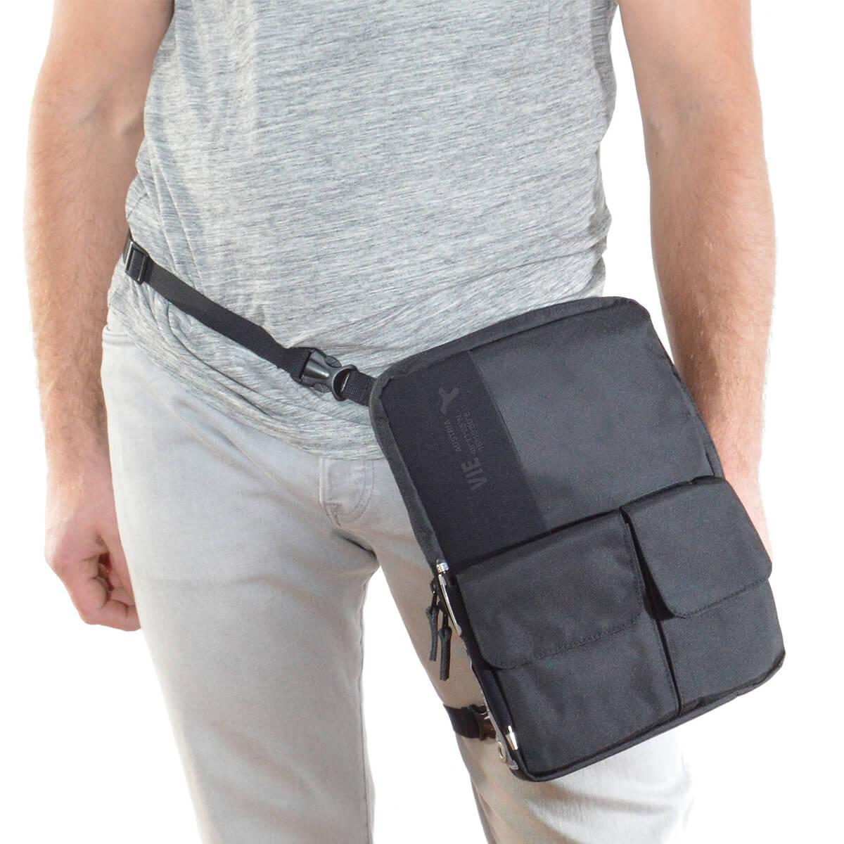 flexible multifunctional tablet bag as waistbag