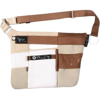 fanny pack golf edition front beige