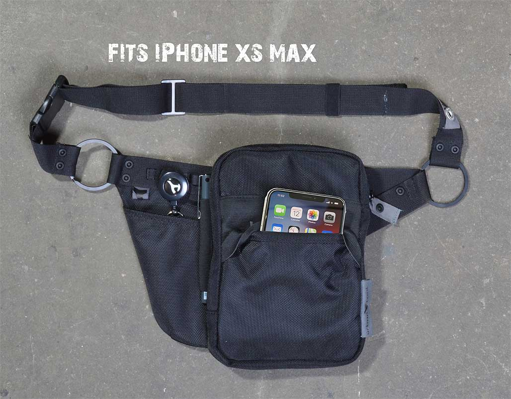 waist pack fitting iPhone xs and iphone xs max