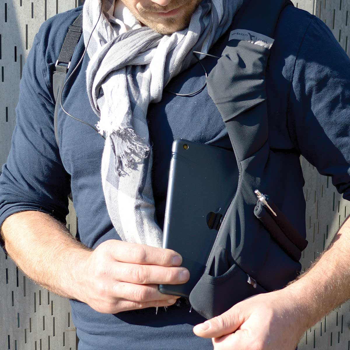 dbe05565b874 Tablet shoulder holster fits 7-8
