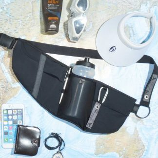 crossholster Running belt pack with bottle holder