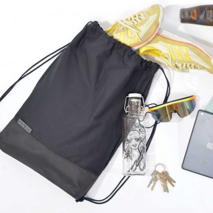 gymbag Drawstring hipster bag, organic cotton