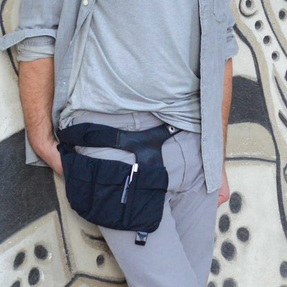 hipHolster stylish fanny pack is a gadget holster for phones, wallet, keys and more