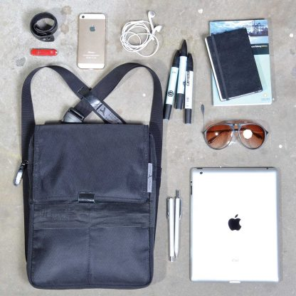 tabbag iPad sling bag backpack for all 10-11´´ tablets, shoulder bag and backpack wearing function