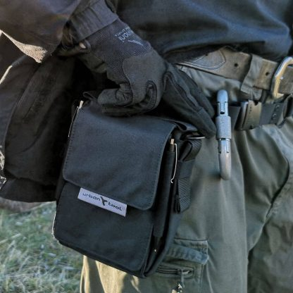 beltpouch, severalpockets for phone, tablet, tools and EDC